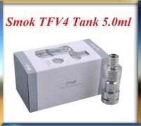 Wholesale Smok TFV4 Single Kit Electronic Cigarette Sub Ohm Tank TFV4 vs tfv4 mini tank kit Fit Sigelei W TC Mod Istick w