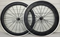 Wholesale New FFWD fr6 Carbon Wheels black for Carbon Road Bike c mm matte or glossy alloy brake surface carbon clincher wheelset