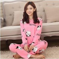 Wholesale 2016 Spring and Autumn pure cotton pajamas cartoon Mickey pajamas tide women pure cotton cute Homewear