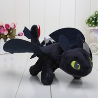 Wholesale 9 HOW TO TRAIN YOUR DRAGON MINI PLUSH Toothless Night Fury Toy Stuffed Animals Toys Christmas Gift