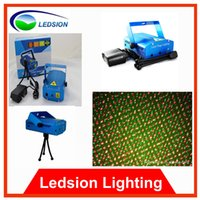 animated laser light - Fedex free mW Green amp Red DJ Party Laser Stage Lighting with Tripod Retail Animated Moving Starts light colorful