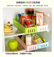 plastic drawer storage box - Multi purpose finishing drawer boxes Japanese style tableware organize creative storage box adjustable Refrigerator storage box