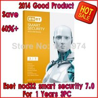 Wholesale 2014 Hot selling Eset nod32 smart security year pc user username password