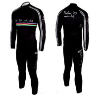 Wholesale Black Cycling Long Sleeve Jersey For Autumn Bike Clothing And Bib Pants Bicycle Jersey Suits For Man