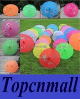 Wholesale NEW hand made Chinese transparent parasols Bridal wedding parasols S Size L Size