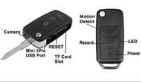 Wholesale super x960 Mini Car Key Chain DV Spy Motion Detection Camera Hidden HD Webcam DVR Camcorder Spy Camera DVR HC KEYCM DVR