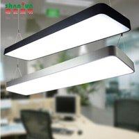 cheap upscale office fillet led t5 28w chandelier modern aluminum strip office lighting cheap office lighting