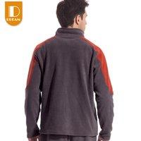 Wholesale New Fashion Men Windproof Fleece Warm Casual Sweatshirts Men Outdoor Sports Hoodies Zipper Fly Sportswear Tectop