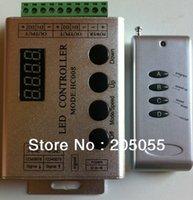Nouveau gros-Magic 5050SMD RGB 133 Modes 1809IC / 1903IC rêve Bande LED Couleur de lumière LED RF Contorller