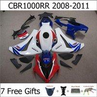 Wholesale CBR1000RR CBR RR CBR RR For Honda Motorbike Fariring Body Kit Blue White Red Injection Molding Free Gifts