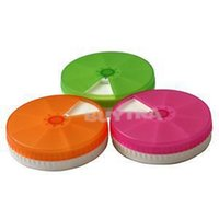 Cheap 2014 New 7 Day Weekly Tablet Pill Organizer Medicine Storage Box Holder Container Round