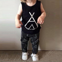 baby checker - NWT Cute Cartoon Tent Anchor Baby Girls Boys Outfits Set Summer Sets Boy Cotton Tops Harem Pants Suits Kid Checker Shirts