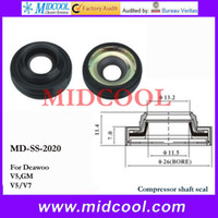 Wholesale Replacement Parts Air conditioning Installation MD SS Compressor Shaft Seal FOR Deawoo v5 GM v5 v7 shaft seal types