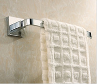 Wholesale Contemporary Chrome Wall Mounted Single Towel Bars