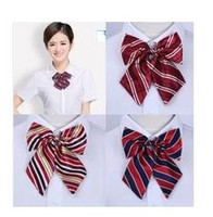 Wholesale 50pcs Hot sale New Women Bows Ties Fashion Butterfly Elegent Uniform Dress Neck tie Wedding Lady Ascot BowTie W01