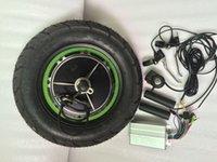 di alta qualità buon prezzo corredo di e-bike pneumatici Fat 48V 500W 3.0-10 3.5-10 dimensione kit motore pneumatici