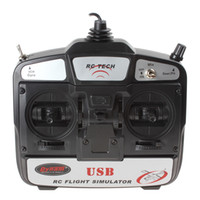 flight simulator - RC Tech CH USB Flight Simulator for Helicopters Airplanes Glider AFD_C03