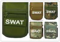 Wholesale Waist Pack Fashion Waist Pack Unisex New Outdoor Tactical Pockets Small Square Military Fans Tool Bag Mobile Pouch Waterproof Oxford Pure Co