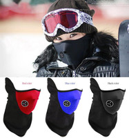 Wholesale Cheapest New Neoprene Neck Warm Half Face Mask Winter Veil Windproof For Sport Bike Bicycle Motorcycle Ski Snowboard Outdoor Mask