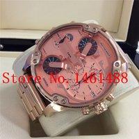 Wholesale Fashion Men s Watch DZ7312 dz7312 Chronograph Rose Gold Stainless Steel Watch Original Box Logo