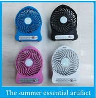 Nueva ultrafuerte viento portátil Mini ventilador USB recargable batería del ventilador de escritorio pequeño ventilador 5V envío libre de DHL ventilador de techo ventilador solar