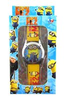 Wholesale Galaxy convoy Monster High Despicable me watch Frozen watches with boxes Snow Queen Wristwatches Princess Anna Elsa wrist watch best gift