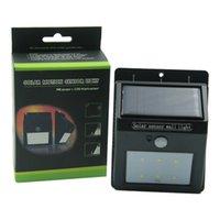Wholesale DHL free Solar Power LED Motion Sensor Solar Light with FIR Sensor CDS Night Sensor for Walkway Garden Yard Deck Patio Fence waitingyou