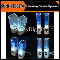 Cheap Hot sale Portable mini speakers computer water Dancing speaker water fountain speakers B