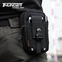 Wholesale THUNDER D30 Tactical D Nylon Waist Pack Cycling Waterproof Molle Waist Packs SAMSUNG Mobile Phone Cover Pouches Bags