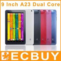 Cheap Discount tablet pc Bluetooth dual camera android 4.2 9 inch 9inch A23 Cheap tablets pc 20pcs