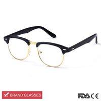 Wholesale New Fashion Ray Vintage Eyeglasses Women Men Unisex Sports Eye Glasses Optical Frame Brand Oculos De Grau Femininos Masculino