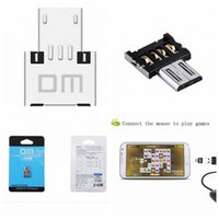 mobile phone new model - 2016 New DM OTG adapter OTG function Turn into Phone USB Flash Drive Mobile Phone CellPhone Adapters Fit For Samsung Model With Retail Box