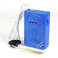 Cheap New Blue Adult Baby Bedwetting Enuresis Urine Bed Wetting Alarm+Sensor With Clamp &Wholesales Jecksion