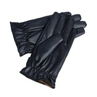 best driving gloves - Best seller Mens Luxurious PU Leather Winter Super Driving Warm Gloves Cashmere
