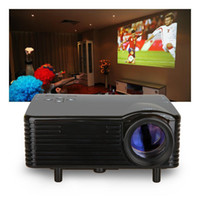 lcd projector hd - US Stock VS New Mini Portable HD LCD LED Projector P Home Cinema Theater PC VGA USB SD HDMI