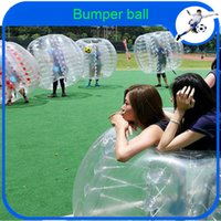 big inflatable ball for human - CE m PVC Big Inflatable human hamster bumper bubble soccer ball toys soccer zorb ball for outdoor fun amp sports bubble