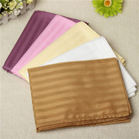 Wholesale Bed Beauty Sheets Flat Sheet For Small single beds Cotton Stripe Thin Quilts Towel Home Hotel Bedclothes x200cm