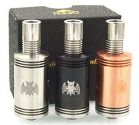 aqua bats - Perfect vape feeling bat atomizer rda aqua v2 doge v3 rda with cloupor mini box mod smy mod flask v3 box mod on sale