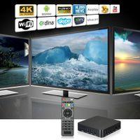 Wholesale MXQ S905 Quad Core Android Smart TV Box XBMC K GB WIFI HD P Home Theater