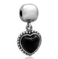 amor plates - STERLING SILVER MI AMOR CLIP DIY Beads Solid Silver Not Plated Fits Pandora Bracelet Charms