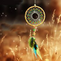 native american - 2015 New Arrival Dream Catcher Handmade quot Diameter and quot Long Native Americans Special Gift for Bringing Good Dream DCR051