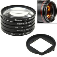 Wholesale Newest Good Quality in mm Close Up Lens Filter Macro Lens Filter Filter Adapter Ring for GoPro HERO