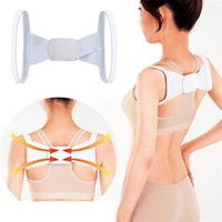Cheap Hot Sales Health Adjustable Back Lumbar Support Brace Belt Posture Shoulder Corrector Strap T189 Free Shipping