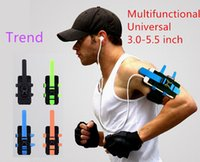 Wholesale Multifunctional outdoor sports phone arm wrist bag Bag with Universal Mobile jogging arm package arm bag