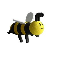Wholesale Cute Mini Hot Sale Cute Lovely Bee Antenna Topper For Car Decoration Interior Accessories Ornaments