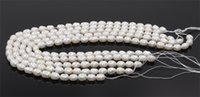 pearl heart beads - New Noble Natural Fresh Water Loose Pearl Oval Beads MM Fine Wedding Jewelry High Quality for