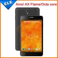 Wholesale Ainol AX Fire Flame inch Octa Core MT6592 IPS Screen Android Bluetooth GPS G ainol novo fire Tablet PC