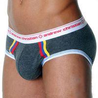 Cheap Wholesale-1pcs wholesale mens underwear brief shorts sexy cotton sleepwear pants 2015 new bikini sexy men penis pouch wonderjock sleepwear