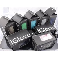 Wholesale Full Retail Package High end Touchscreen Gloves Unisex Functional iglove Capacitive Iphone C S Ipad Smart Phone Gloves Hot