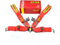 Wholesale Sabelt nylon red Racing Satefy Belt Point Seat Belt Harness Homologation with FIA Homologation In stock and ready to ship